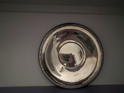 Reed and Barton #1208 Silverplate sandwich plate