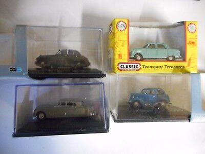 Base Toys Oo 4X Older  British Cars 3