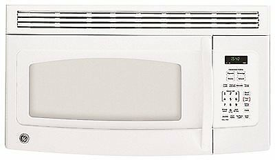 Ge® 1.5 Cu.ft. Over-The-Range Microwave Oven, White, 950 W