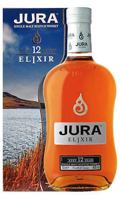 Jura 12YO Elixir Single Malt Scotch Whisky 700ml(Boxed)