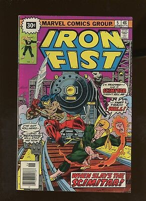 Iron Fist 5 VG/FN 5.0 * 1 Book Lot * ¢30 Price Variant! Claremont & Byrne!