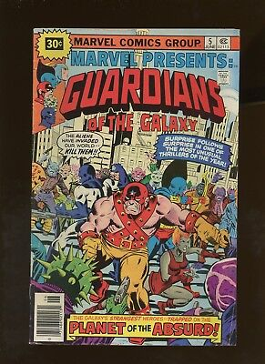Marvel Presents 5 FN 5.0 * 1 Book * ¢30 Price Variant! Guardians of the Galaxy!