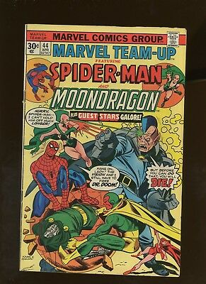 Marvel Team-Up 44 VG/FN 5.0 * 1 Book * ¢30 Price Variant! Spider-Man! Dr. Doom!
