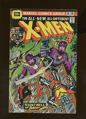 X-Men 98 VG 4.0 *1 Book Lot* ¢30 Price Variant! 1st Amanda Sefton! Dave Cockrum!