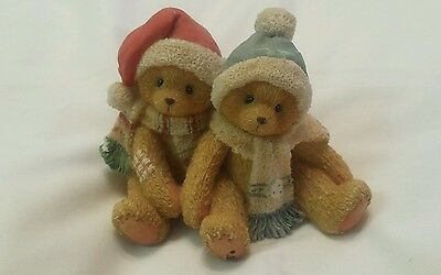 Cherished Teddies Jamie & Ashley I'm Wrapped Up In Your Love 1996