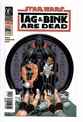 STAR WARS: Tag and Bink Are Dead #1 NM/NM- Dark Horse (Oct, 2001) Han Solo Film