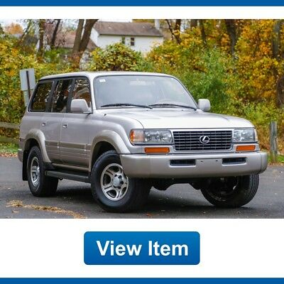 1997 Lexus LX Base Sport Utility 4-Door 1997 Lexus LX450 Calidornia Car Serviced  LX 450 Tow Land Cruiser CARFAX