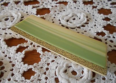 1950s VINTAGE LUCITE OR CELLULIOD COMB WITH COVER FOR LADIES HANDBAG