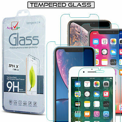 100% Genuine Tempered Glass Film Screen Protector New For Various Phones Models