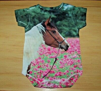 RODEO RAGS Baby Girl One Piece ONSIE Outfit 12m Months ~ Pony HORSE ***