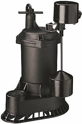PENTAIR WATER DC13318V MYERS 1/3 HP SUMP PUMP | Cast iron motor housing with th