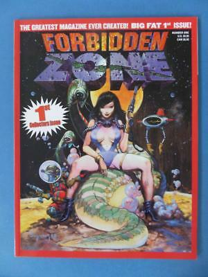 Forbidden Zone 1 Suydam Corben Bisley Squarebound 98 Pages! Adults!