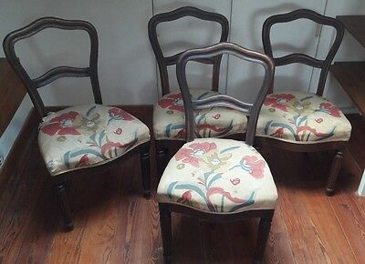 4 chaises Louis-Philippe