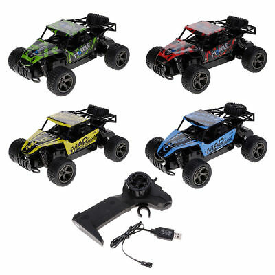 High Speed Remote Control RC Car Electric Off-Road Race Charge 2.4GHz Fun Free