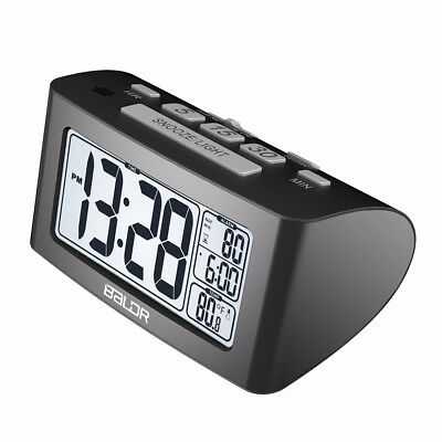 Baldr Nap Digital LCD Alarm Clock Snooze Table Desk Thermometer Timer Watch