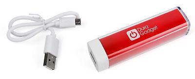 Red Power Bank w/ Micro USB Cable for Fitbit Flex & Fitbit One Activity Tracker