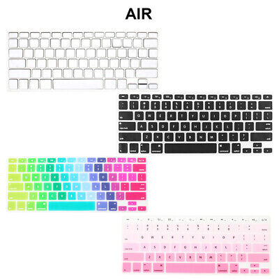 "Silicone Keyboard Keypad Skin Film Cover Protector For Apple 13"" 15"" Macbook Pro"