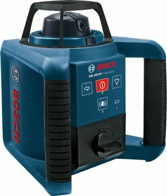 Bosch GRL250HV Professional Rotating Laser Level + Remote Control 0601061600