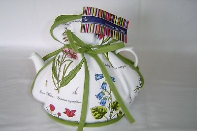 Muff / Open Top Tea Cosy British Made Botanical Garden