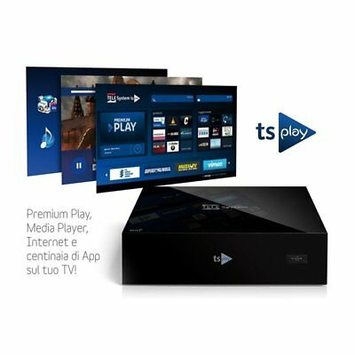 Telesystem Ts Play Box Ip Lettore Multimediale Wi-Fi, Usb/dlna Tsplayip2.0