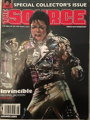The Source: Michael Jackson Special Collector's Issue #233August 2009. Free P&P