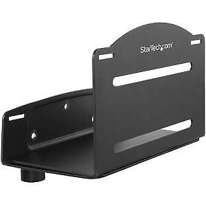 NEW! Startech Cpu Mount Adjustable Width 4.8In To 8.3In Metal Computer Wall Moun