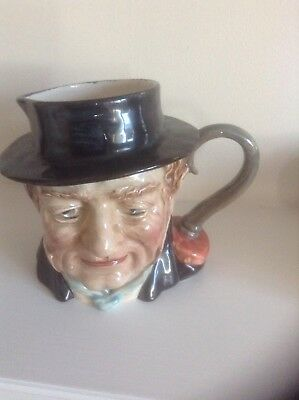 Vintage Captain Cuttle Beswick Character Jug