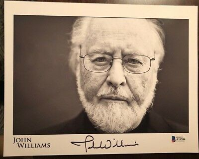 John Williams signed autographed 8x10 Photo BECKETT BAS STAR WARS COMPOSER