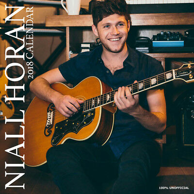Niall Horan 2018 Calendar with FREE Pullout Poster : One Direction Star