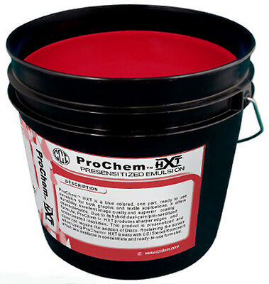 CCI ProChem HXT Red Photopolymer Pre Sensitized Emulsion Screen Printing - Quart
