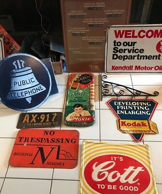 SUPER RARE VINTAGE 1920'S MOXIE SIGN THERMOMETER awesome color & graphics works