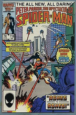 Spectacular Spider-Man #118 1986 Mike Zeck Marvel Comics v