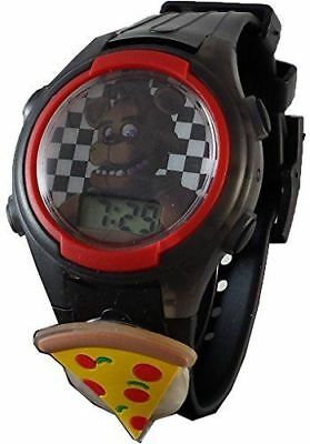 Five Nights at Freddy's LCD Kid's Watch w/ Flashing Dial & Light Up Icon FNAF