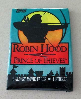Robin Hood Prince Of Theives Trading Card Sealed Pack Vintage 1991