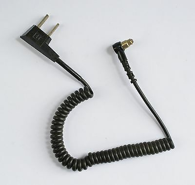 Honeywell Flash Cable Sync Power Cord (for ROLLEI?) Coiled