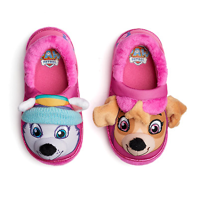 Paw Patrol Slippers Baby Toddler Size 5/6 7/8 9/10 11/12 Skye Everest S M L XL