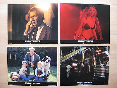 TIGHTROPE 1984 Original lobby card set Clint Eastwood Genevieve Bujold police