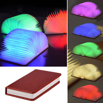 USB Rechargeable Reading Book LED Light Foldable Table Lamp 5 type color light