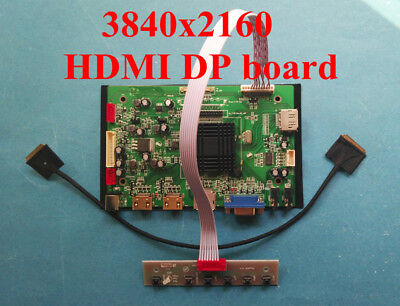 4K HDMI+DP Board for 15.6inch 3840x2160 LCD LQ156D1JX01 LQ156D1JX01B