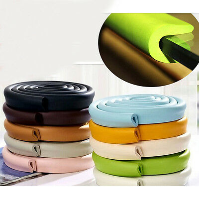 Baby Safety Corner Desk Edge Bumper Protection Cover Protector Table Cushion UK