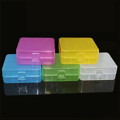 Battery Case Holder Storage Box 2Pcs 26650 Capacity Rechargeable Battery Pack