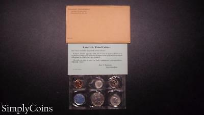 1959 Proof Set ~ Original Envelope With COA ~ US Mint Silver Coin Lot SKU-809
