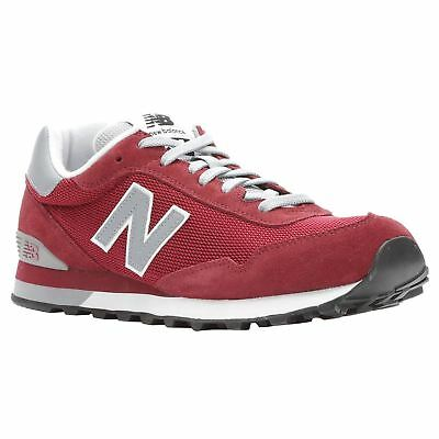 3044d69f4f9c New Balance 515 Classics Mercury Red Silver Mink Men Suede Mesh Low-top  Trainers