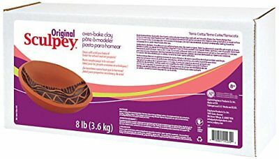 Original Sculpey Polymer Clay 8lb Terra C - BEST VALUE IN EUROPE - FIMO