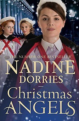 Christmas Angels (Lovely Lane) by Nadine Dorries Paperback Book New