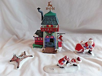 Peppermint Skating Party Heritage Village Collection 56363 retired