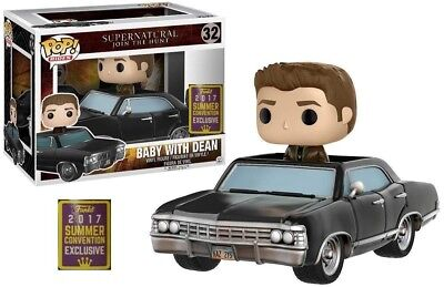 Funko Pop Rides # 32 Baby with Dean Supernatural SDCC 2017 Shared In Stock