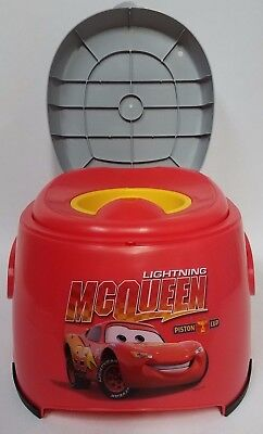 Potty Training Disney Cars 3 in 1 potty trainer 3 In 1 Detachable Seat