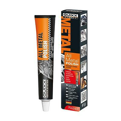 Quixx All Metal Polish - 3 in 1 Cleaner Polish Sealer for most Metals