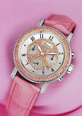 Chopard Pressefoto Elton John Watch rosa Armband Uhr press photo GB F D I E Foto